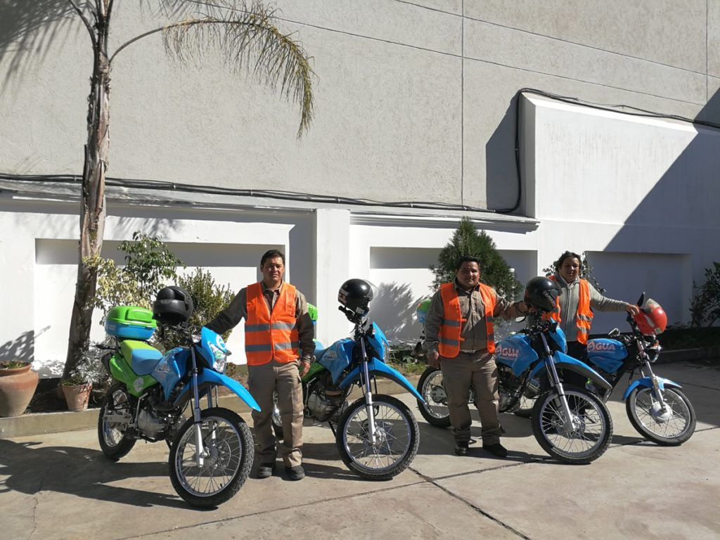 Motos para Agua Potable