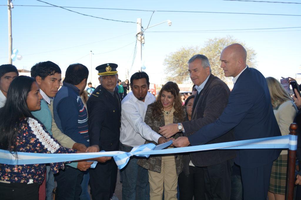 Inauguraron destacamento policial en Perico